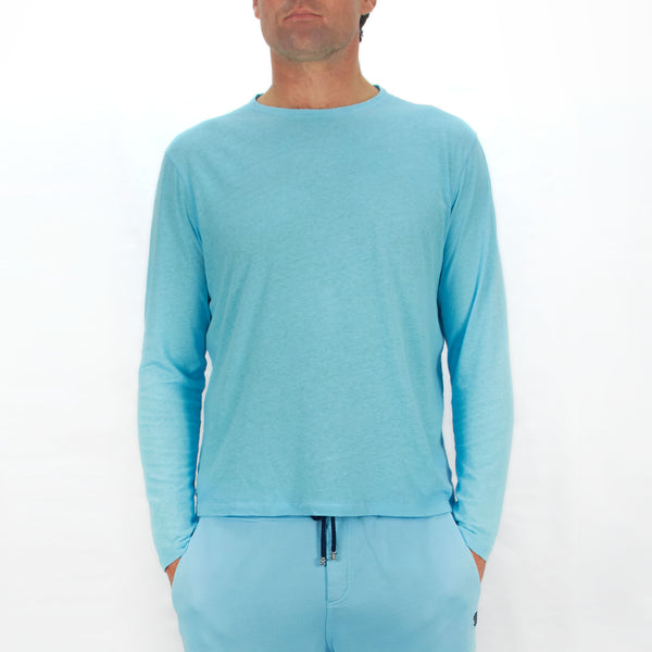 Long Sleeve T-Shirt Riva Blue