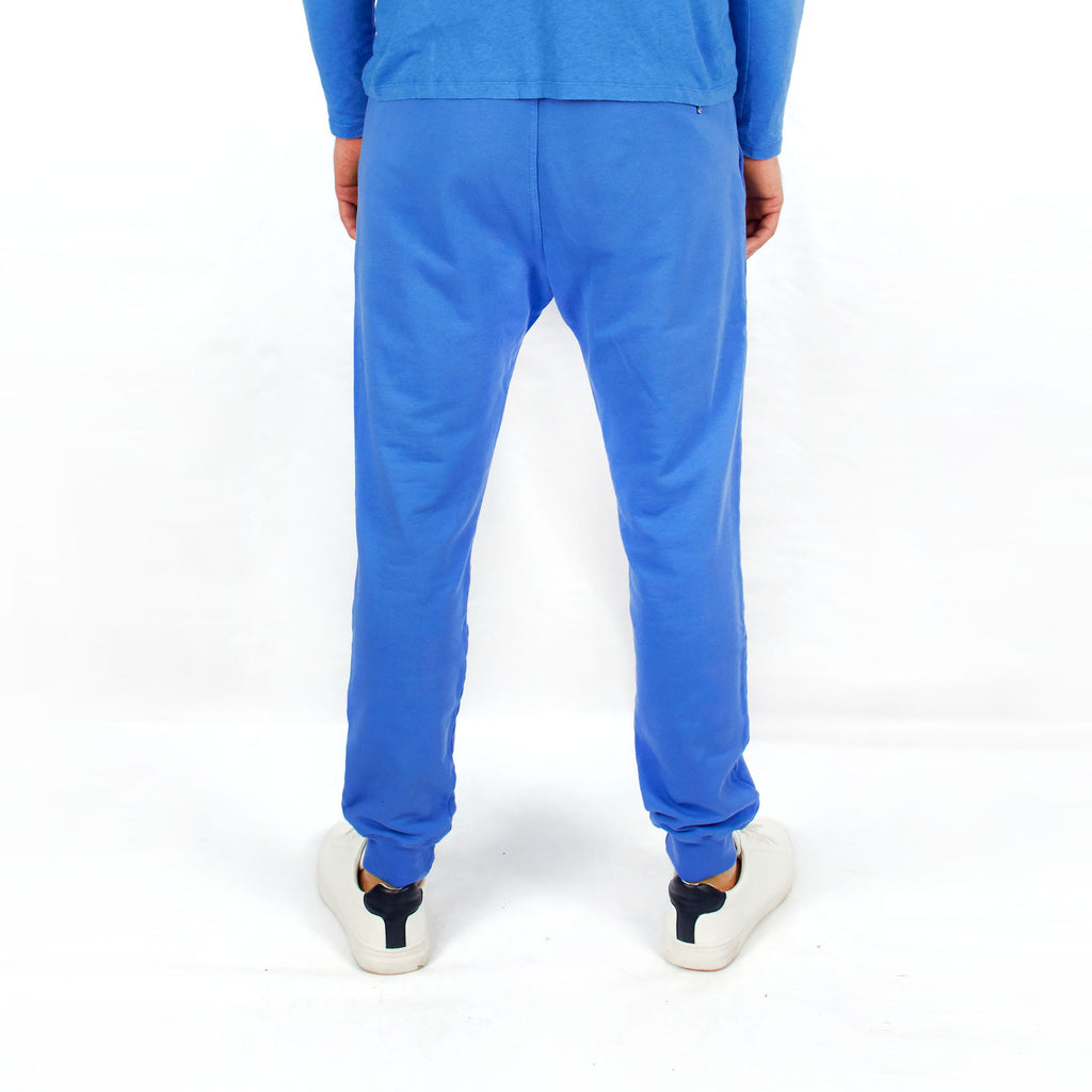 Track Pants Pool Blue