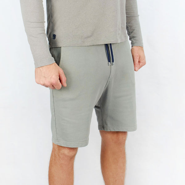Leisure Track Shorts Cemento