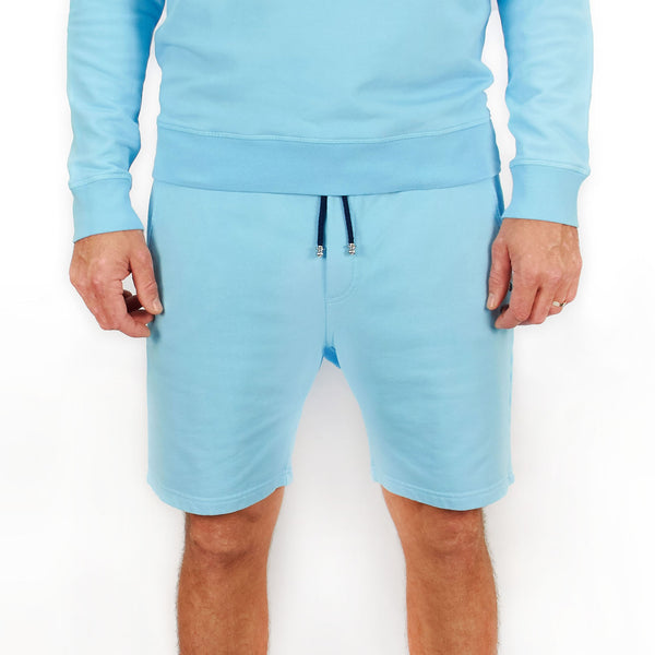 Leisure Track Shorts Riva Blue