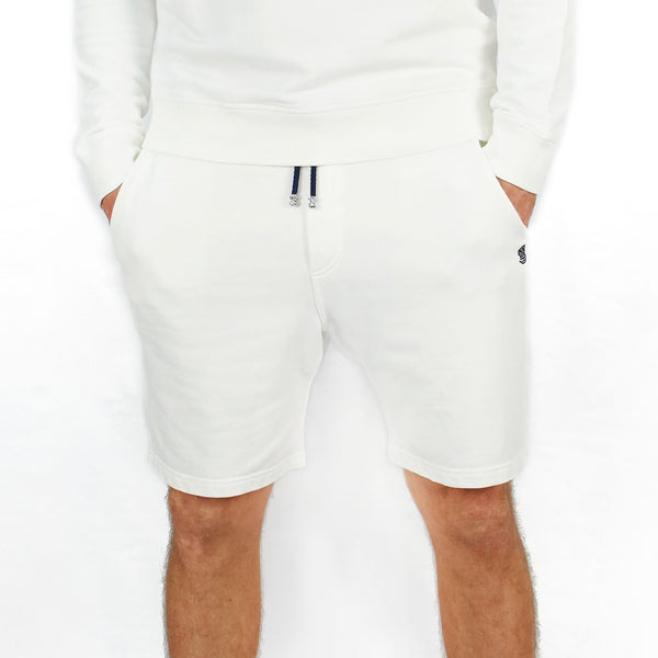 Leisure Track Shorts White