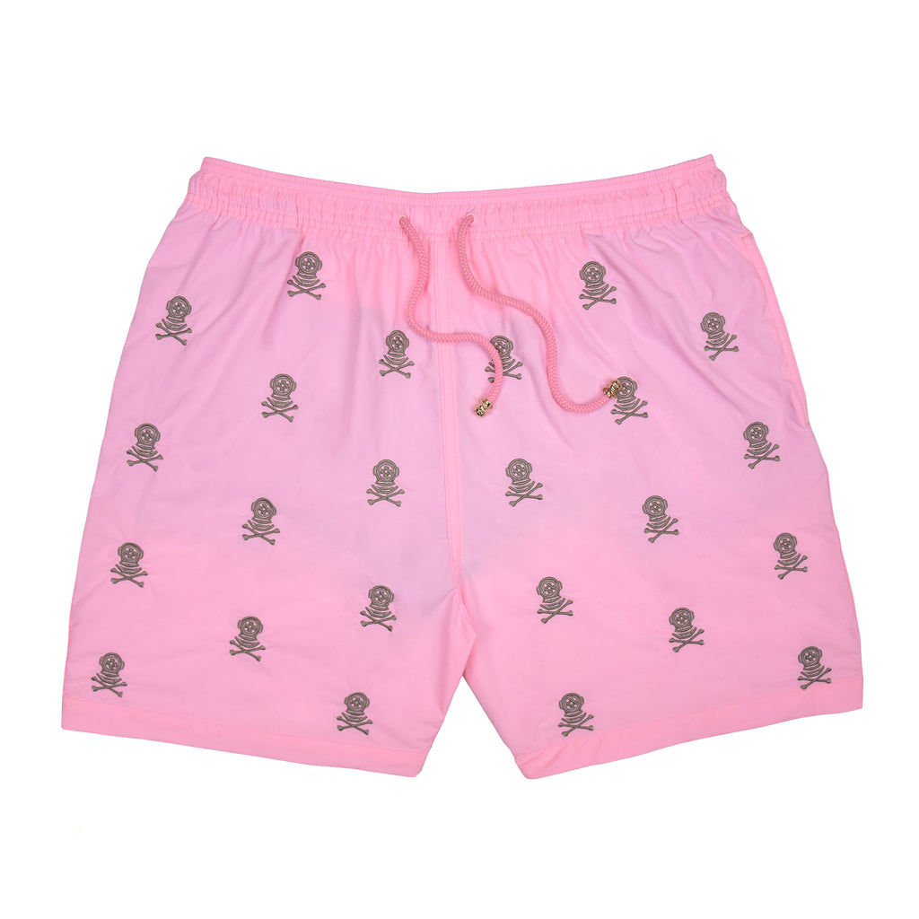 Swim Shorts Sea Diver Pink & Cement