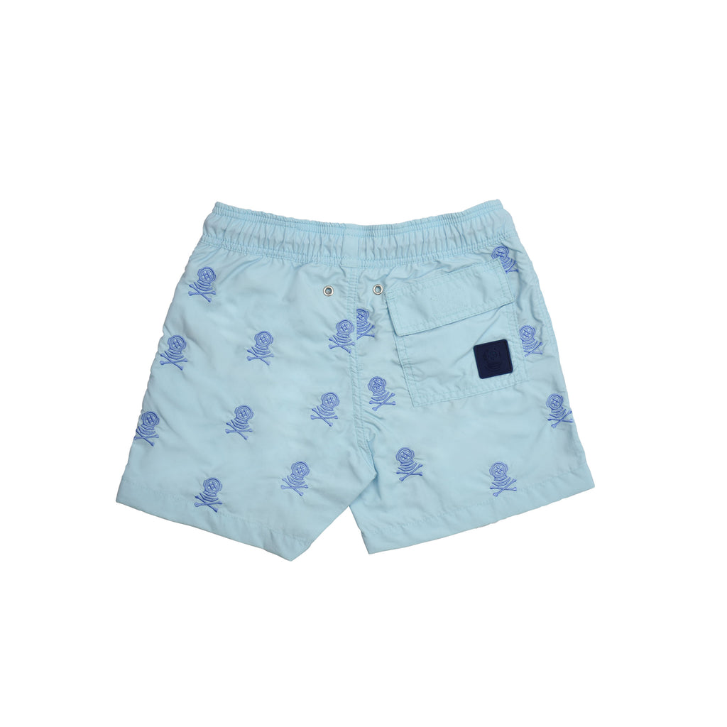 Kids Swim Shorts Sea Diver Riva Blue