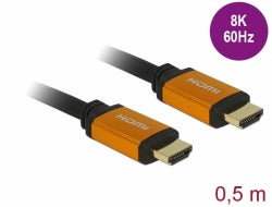 DeLock 85729 HDMI High Speed 2m kabel 8K 60Hz 7680x 4320 Dynamic HDR 48Gbps eARC Game Mode VVR Ren koppar 99,99%