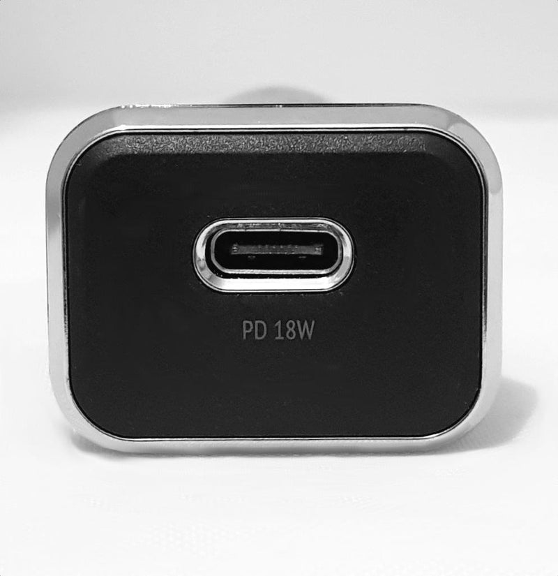 NÖRDIC Snabb billaddare USB C Power Delivery 18W