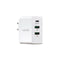 NÖRDIC 45W 3Ports Väggladdare 1xUSB C 45W Power Delivery 3.0 Quick Charger 4, 2xUSB A 18W  QuickCharger 3