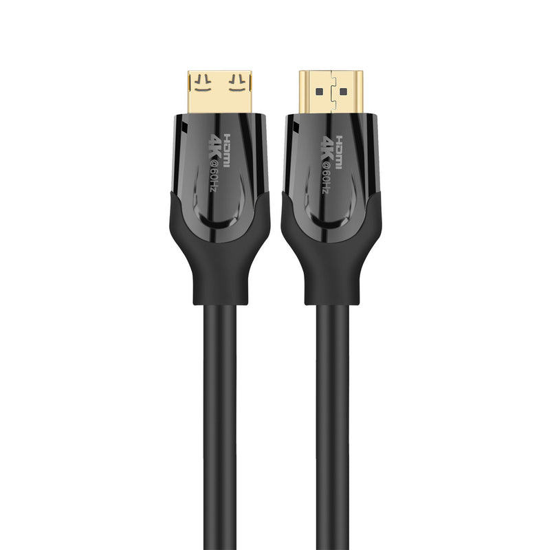 NÖRDIC 10m kabel HDMI 2.0 High Speed with Ethernet 18Gbps 4Kx2K 60Hz UHD stöd för Dynamic HDR Dolby® Vision eARC Game Mode VVR Ren koppar 99,99%