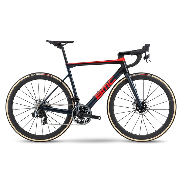 BMC TEAMMACHINE SLR01 DISC ONE RED AXS HRD ROAD BIKE