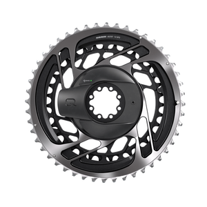 Quarq Powermeter Kit : Red AXS DM Including Chainrings : Grey