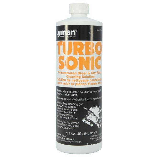 Lyman Turbo Sonic Concentrated Cleaning Solutions,Reloading Chemicals- Canada Brass