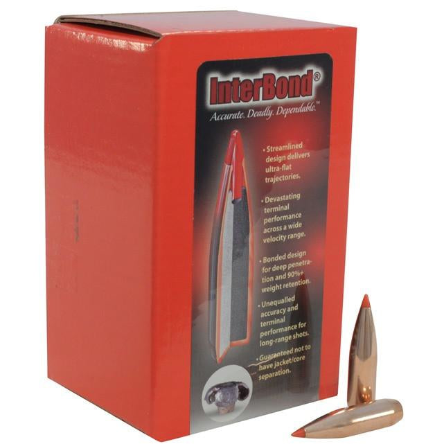 Hornady 30 Cal InterBond Bullets,New Rifle Bullets- Canada Brass