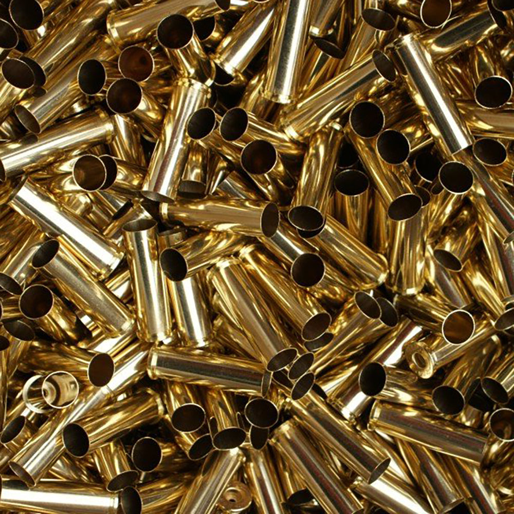 Previously Fired Bulk 357 Magnum Brass Casings