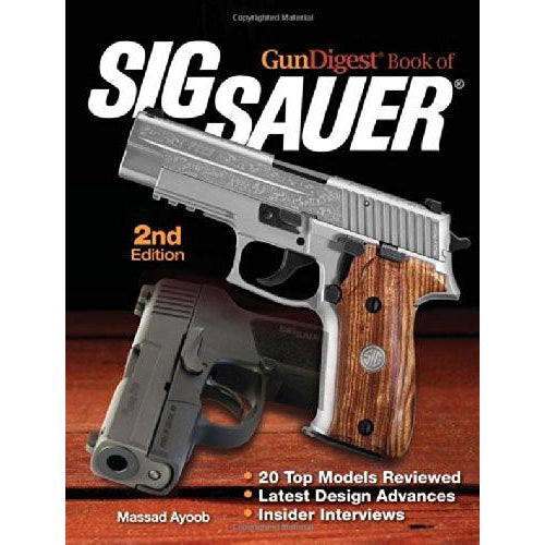 Gun Digest Book of Sig Sauer 2nd ed,New Books- Canada Brass