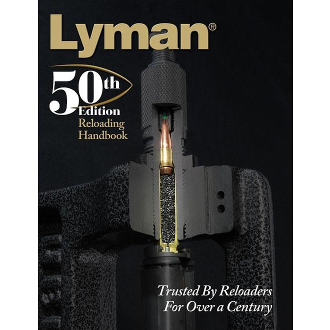 Lyman 50th Edition Hardcover Reloading Manual,New Books- Canada Brass