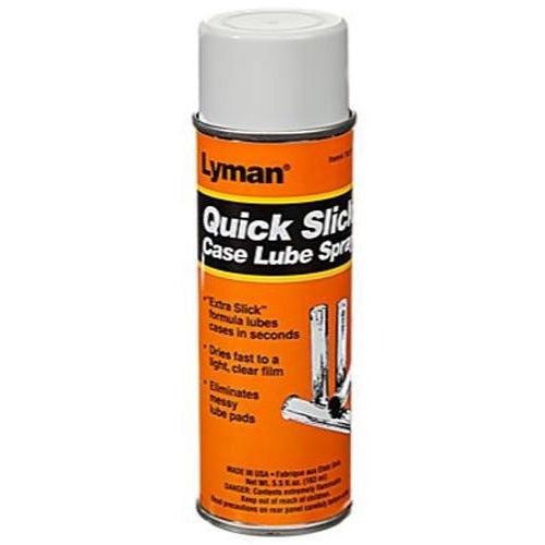 Lyman Quick Slick Case Lube Spray,Reloading Chemicals- Canada Brass