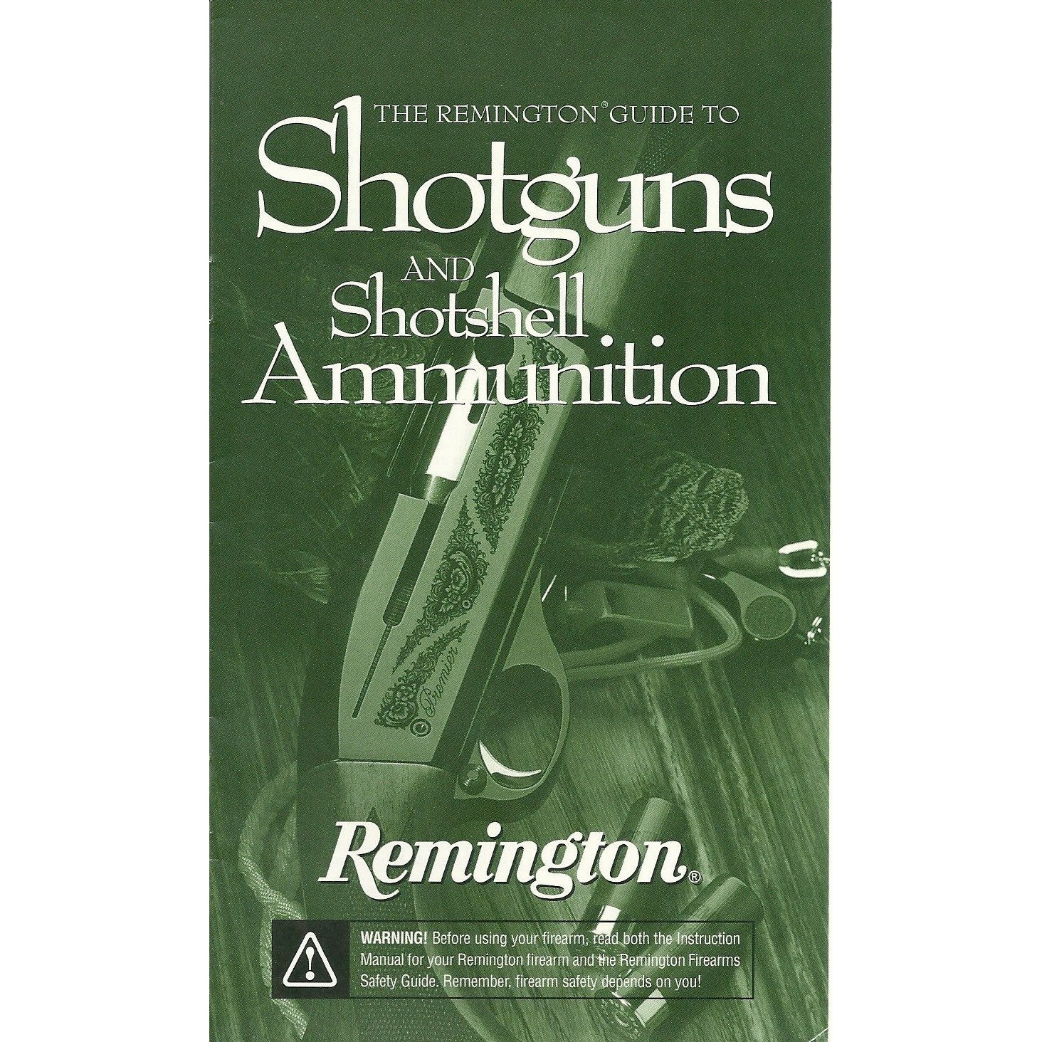 Remington Model 11/87. SPS Super Mag Manual,Firearm Manuals- Canada Brass