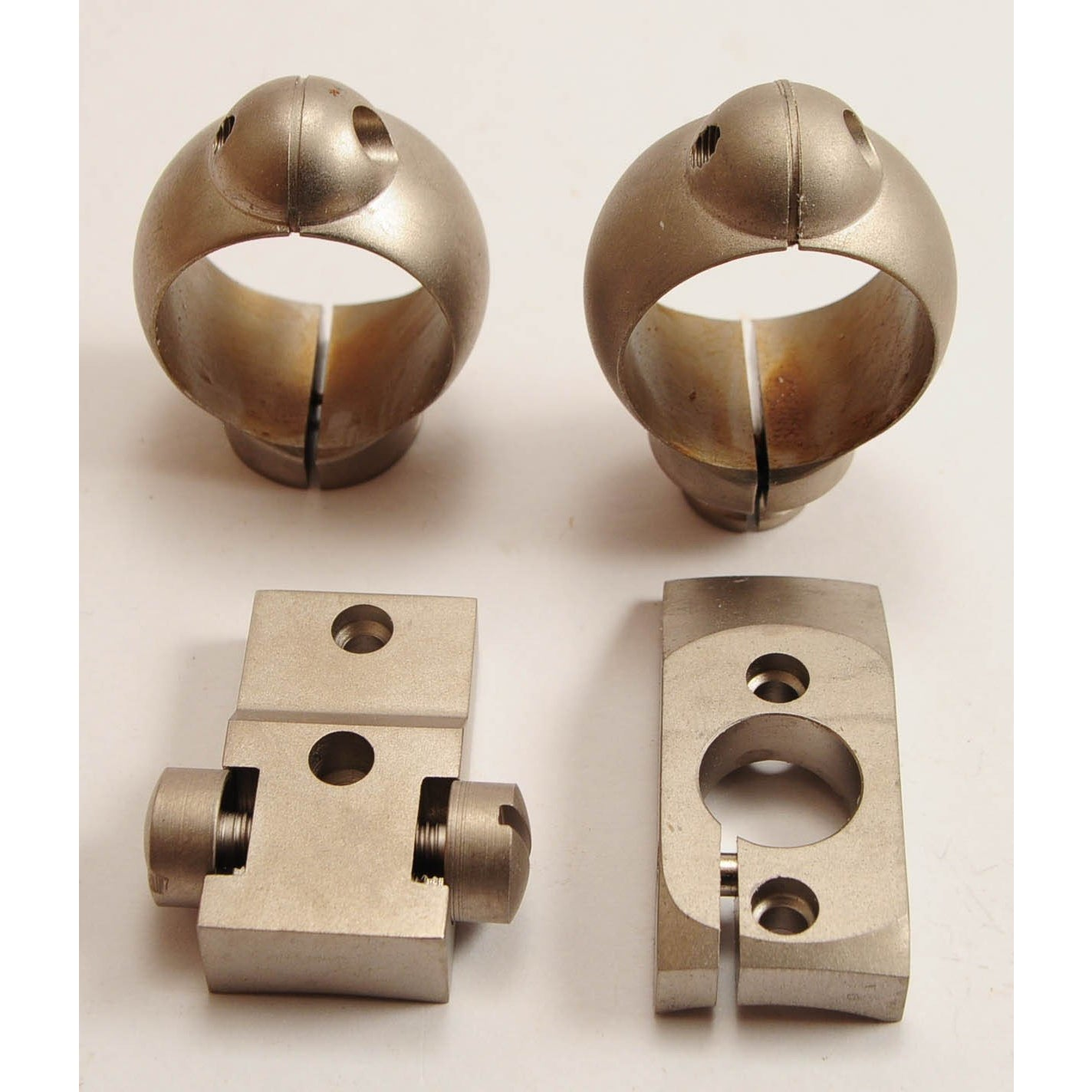 "Buehler Nickel 1"" High Rings and Bases for Rem M700 & Wtby Mk V,Used Optics & Accessories- Canada Brass"