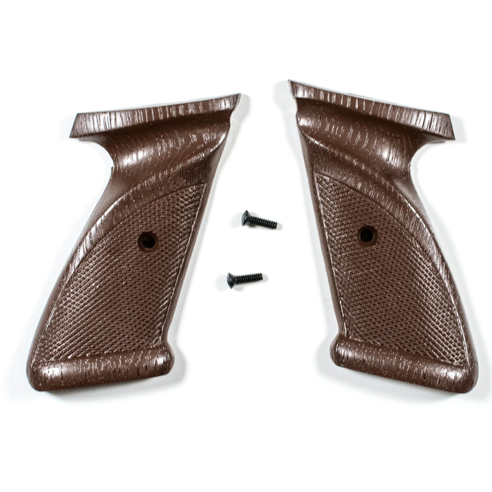 Crosman Mod.1377 Set of Plastic RH & LH Grip Panels with Screw,Gunsmith's Parts- Canada Brass
