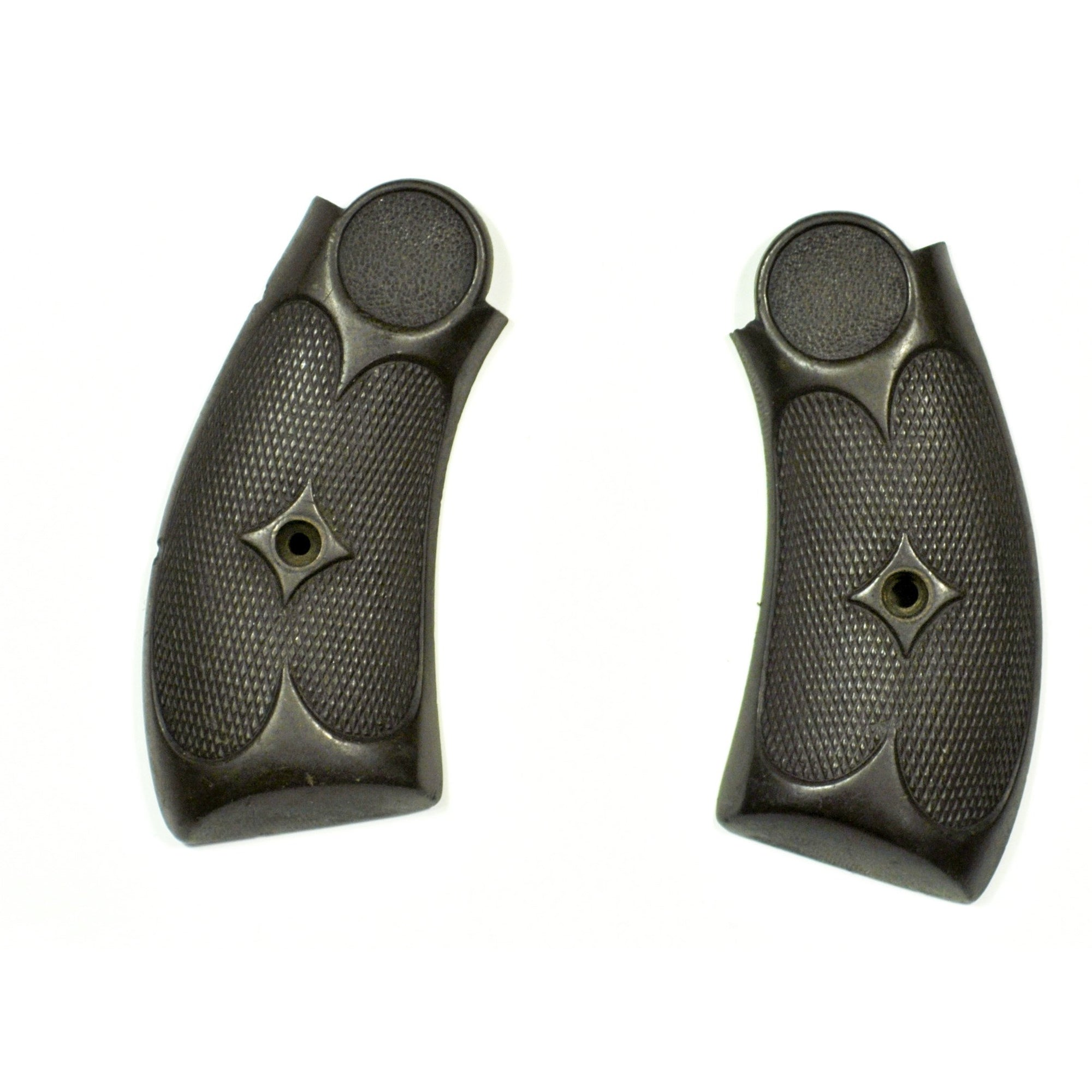 Hopkins & Allen XL Bulldog Revolver Black Hard Rubber Grips - Pair,Gunsmith's Parts- Canada Brass