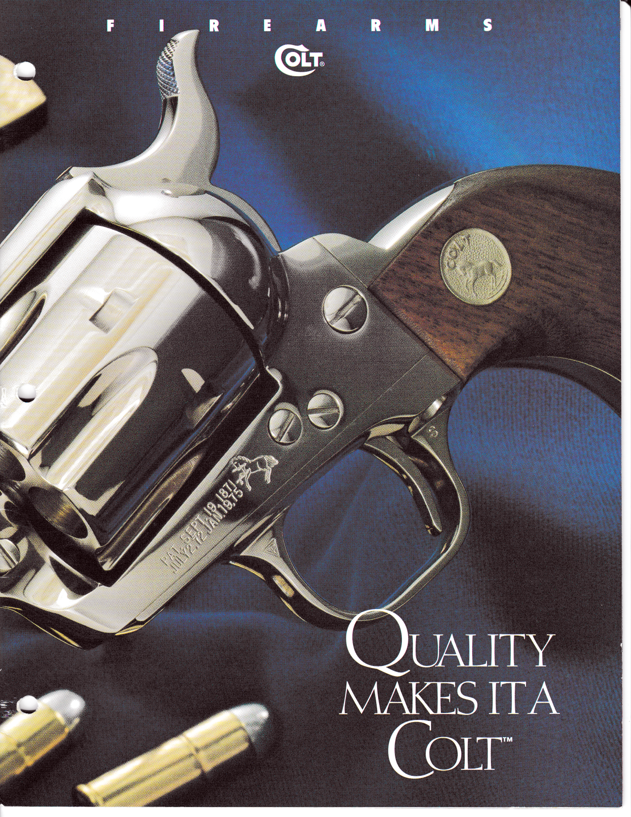 Colt 1994 Catalogue,Catalogues & Brochures- Canada Brass