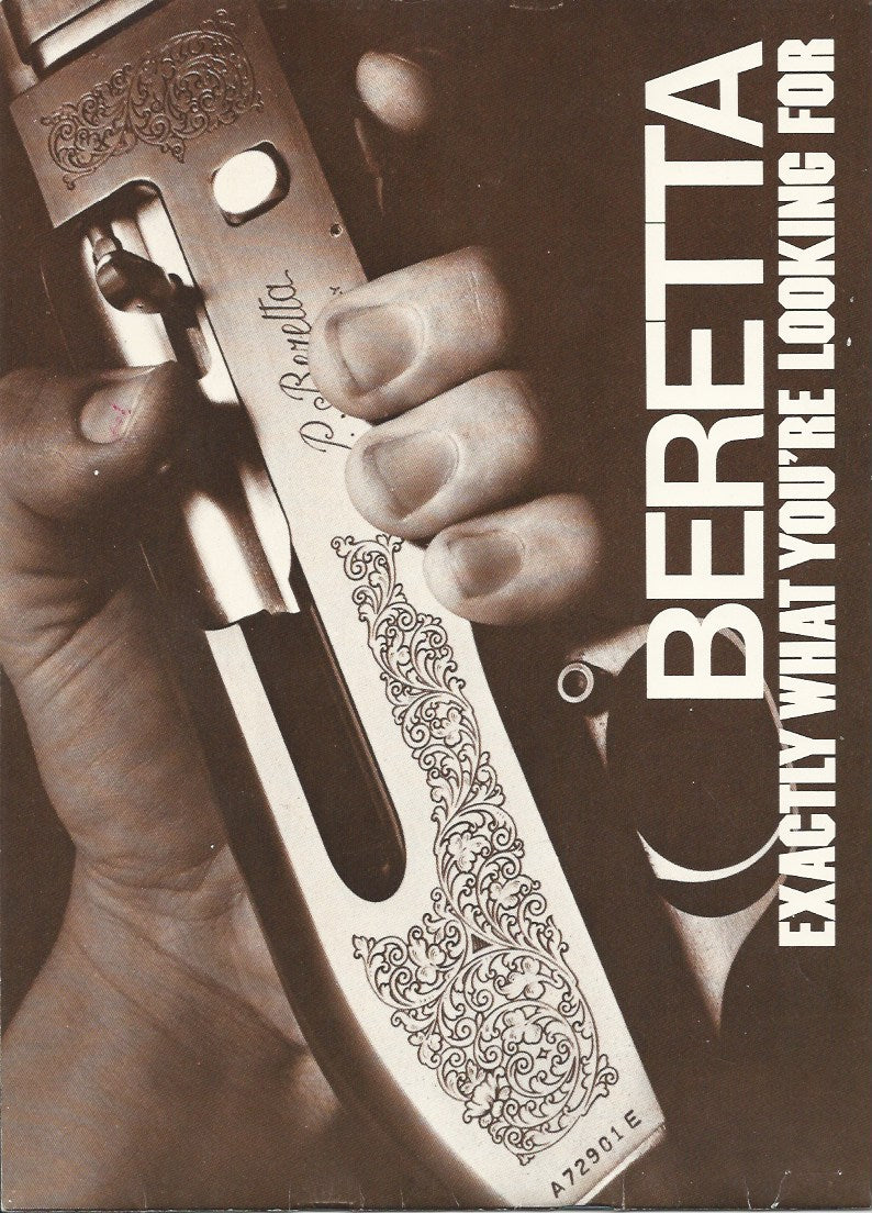 Beretta 1980 Catalogue