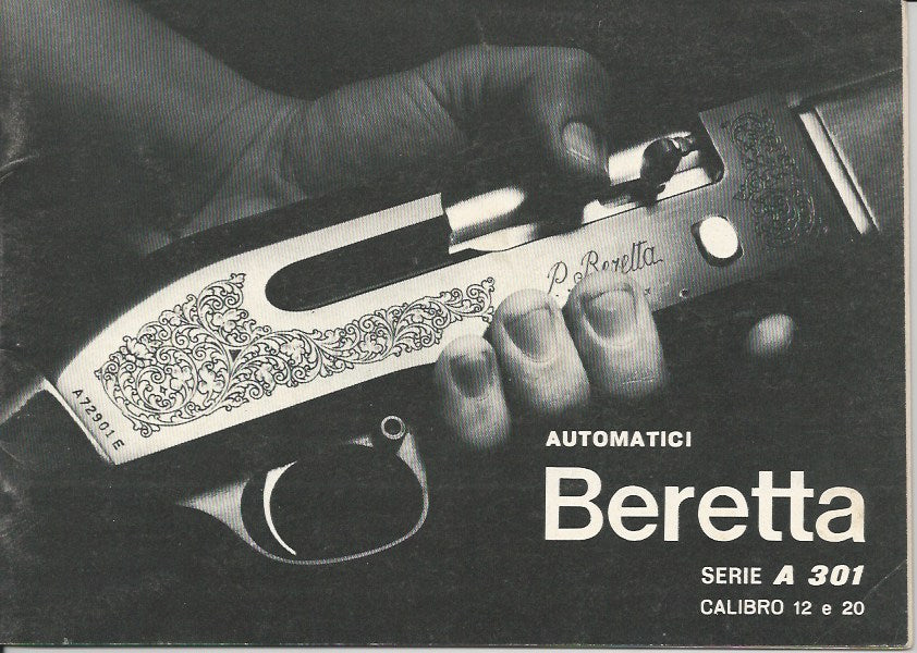 Beretta A301 12 or 20ga Manual