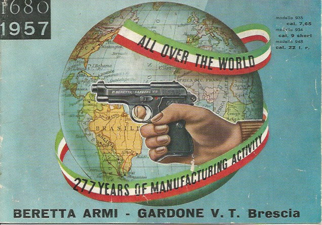Beretta Armi 1957 Pistol Catalogue