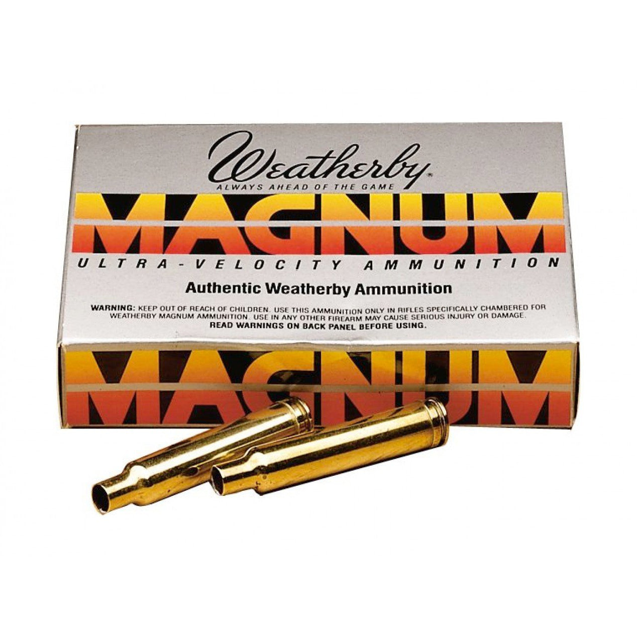Weatherby New Unprimed Brass,Unprimed Brass- Canada Brass