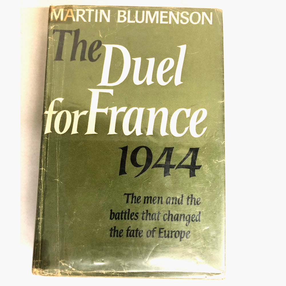 The Duel for France 1944 1st Ed.