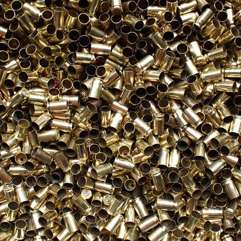 Previously Fired Bulk 380 Auto Brass Casings