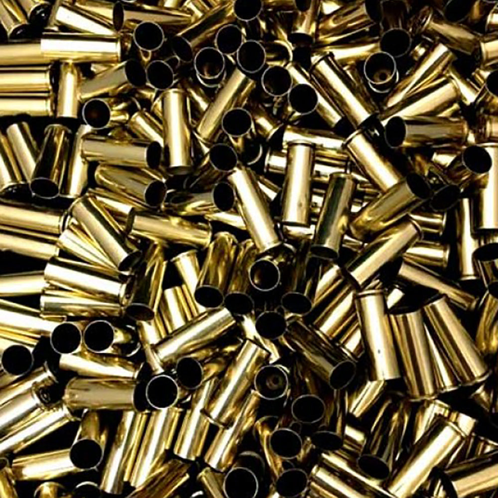 Previously Fired Bulk 44 Rem Mag Brass Casings