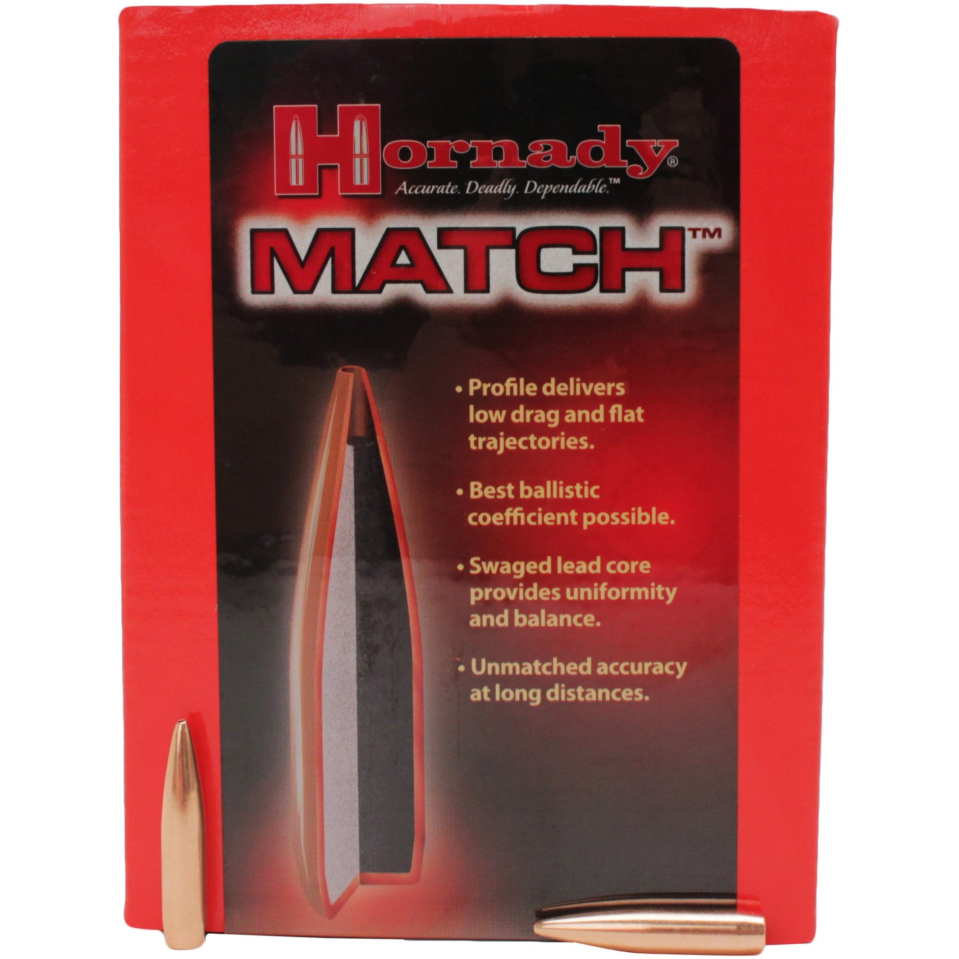 Hornady 270/6.8 Cal Match Bullets,New Rifle Bullets- Canada Brass