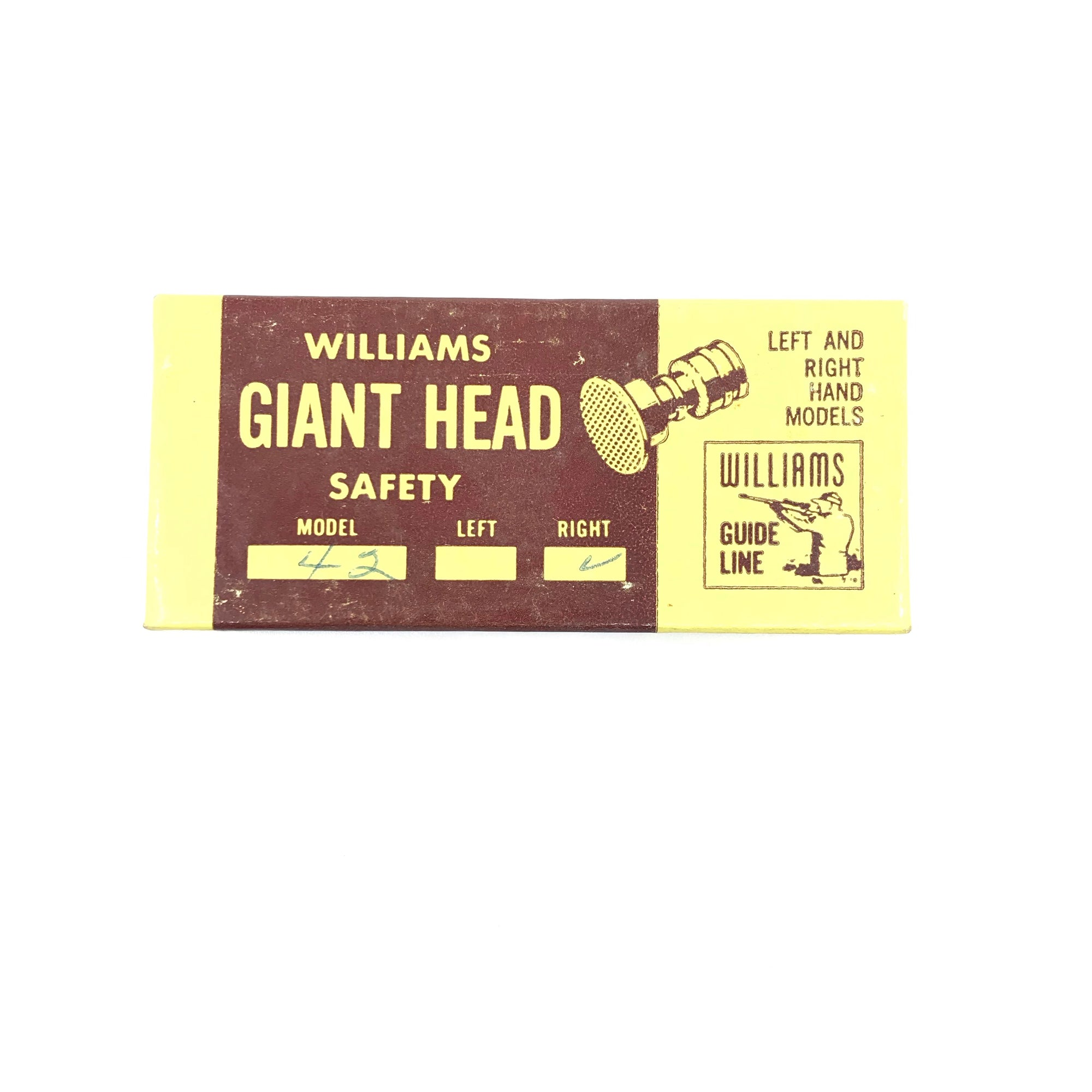 Williams Winchester Model 42 Right Hand Giant Head Safety