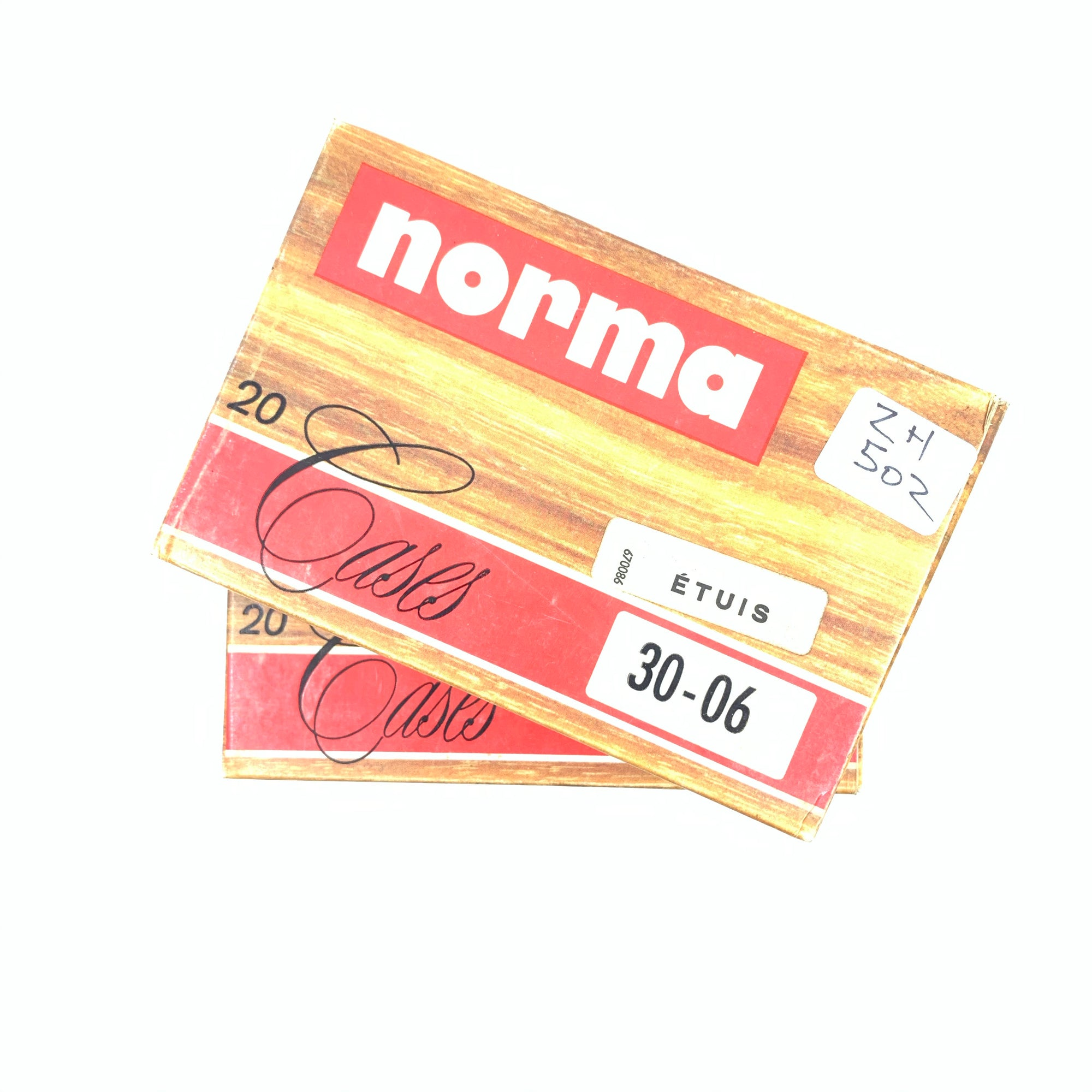 Norma 40 Rounds Unprimed 30-06 Sprg Brass