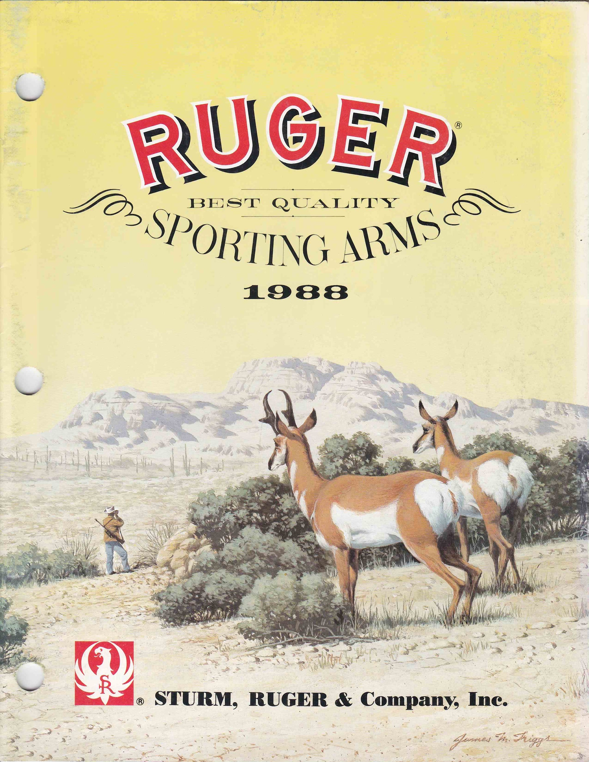 Ruger Catalogue 1988
