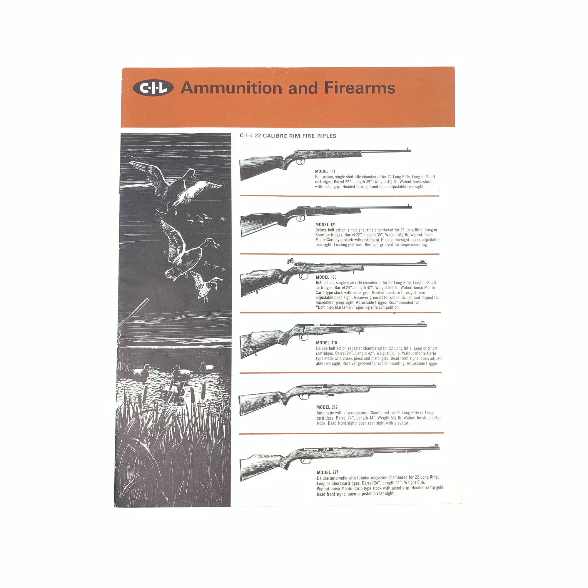 CIL Ammunition and Firearms 1965 SB 12 pages