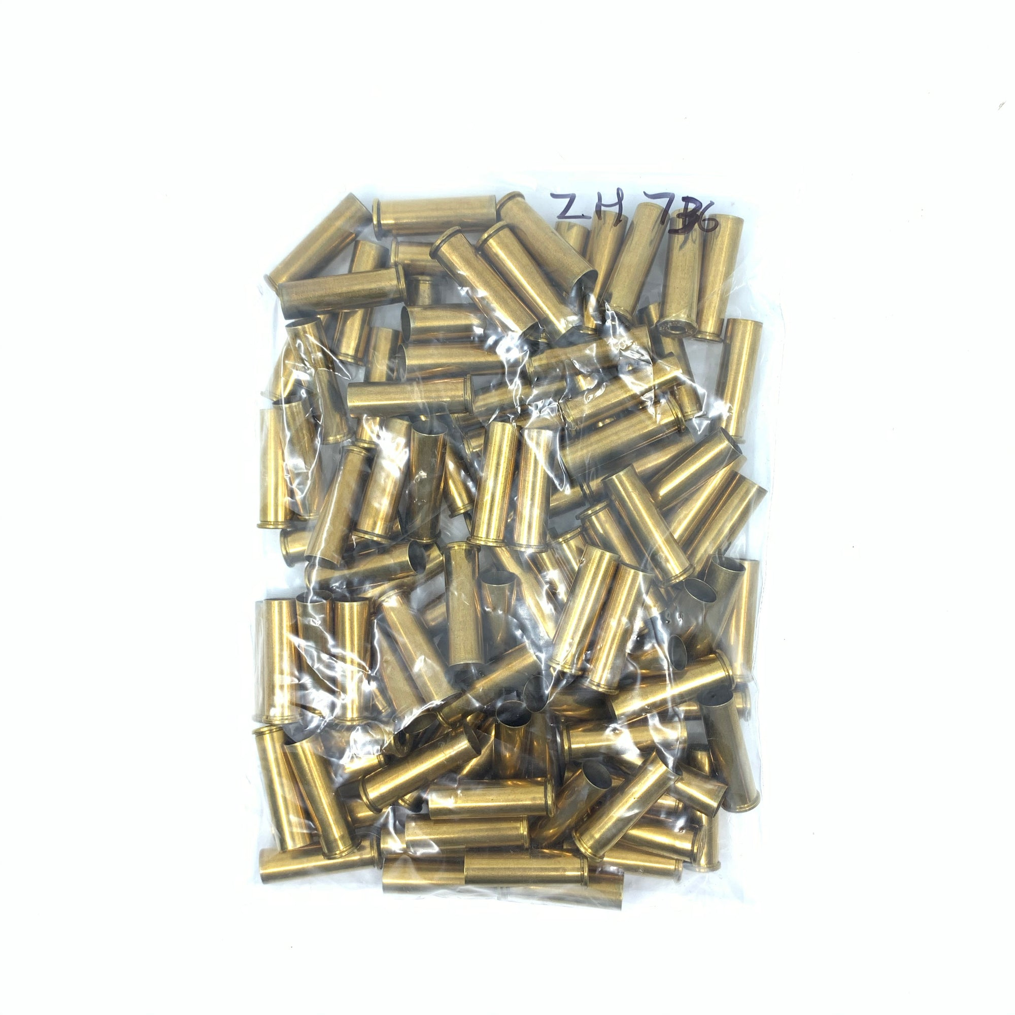 100 Rounds Fired 357Mag Brass Deprimed
