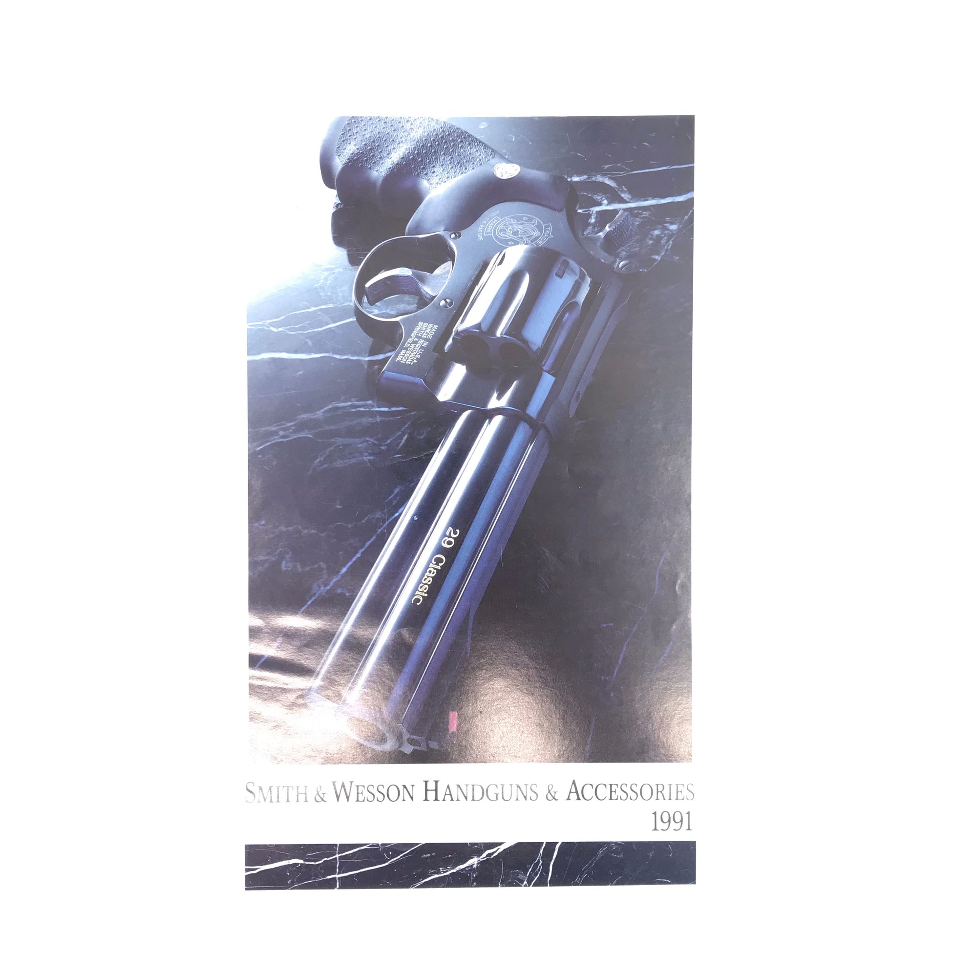 1991 Smith & Wesson Handguns & Accessories Catalogue