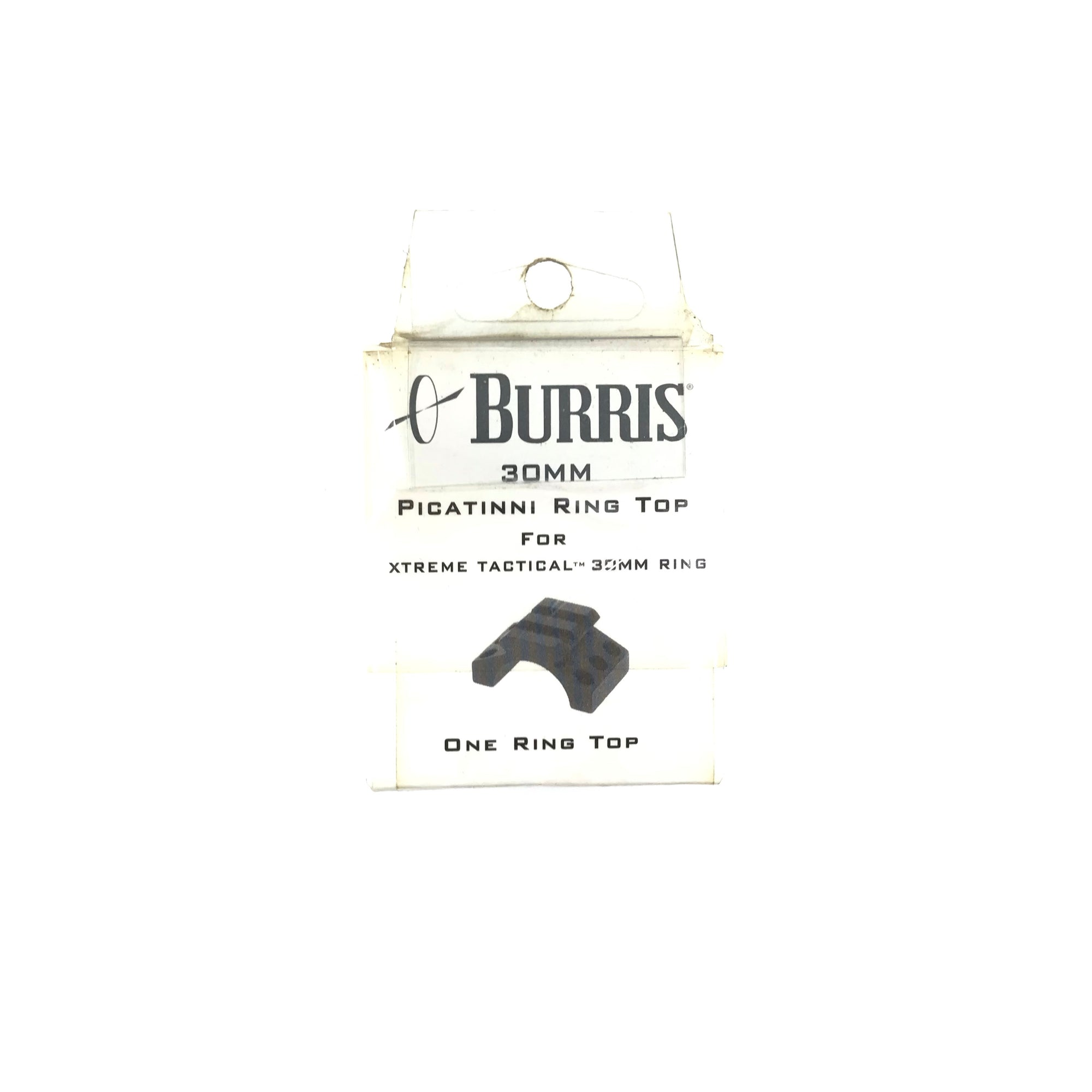 Burris 420169 30mm Picatinni Ring Top For Xtreme Tactical 30mm Ring