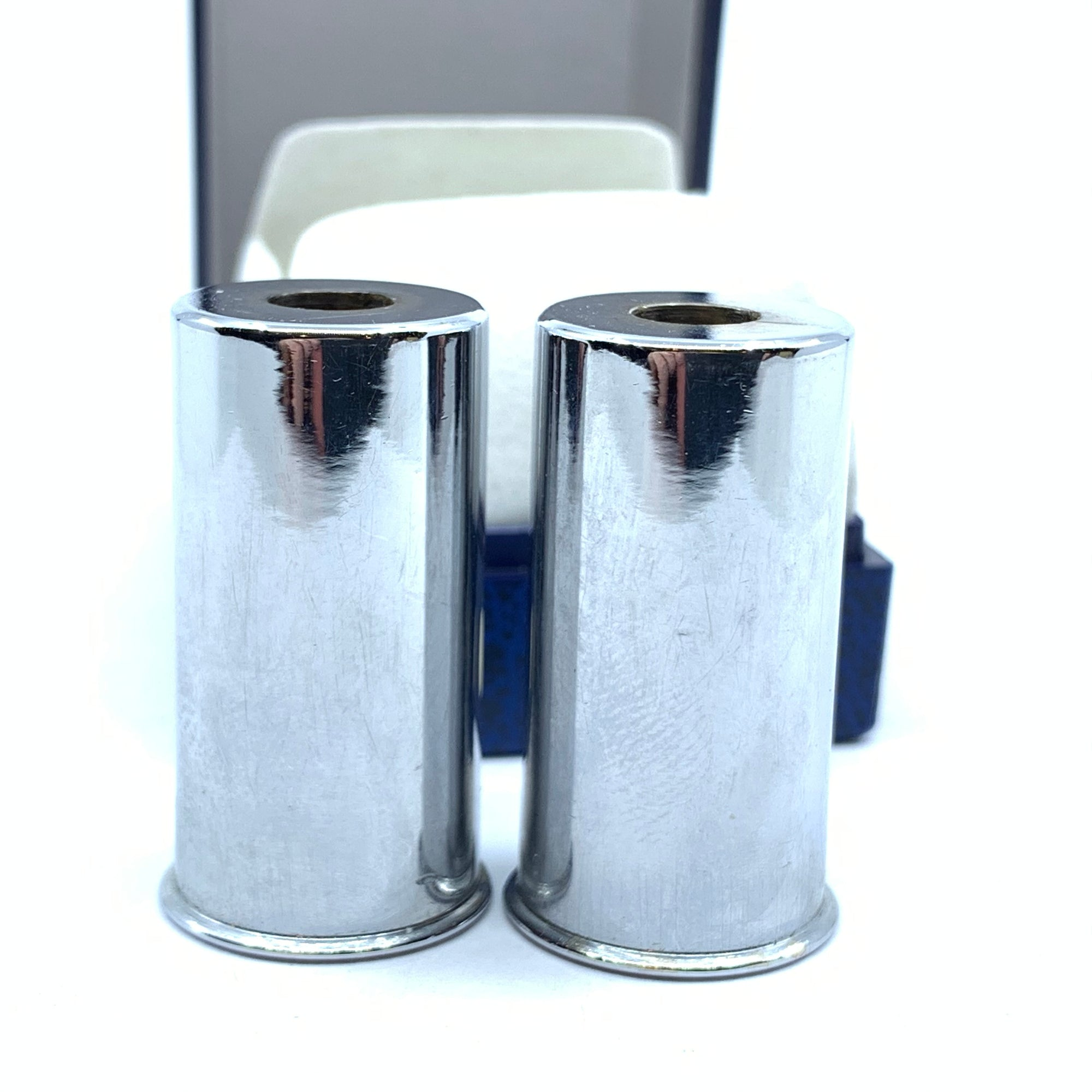 Beretta Set of 2 Chrome Snap Caps