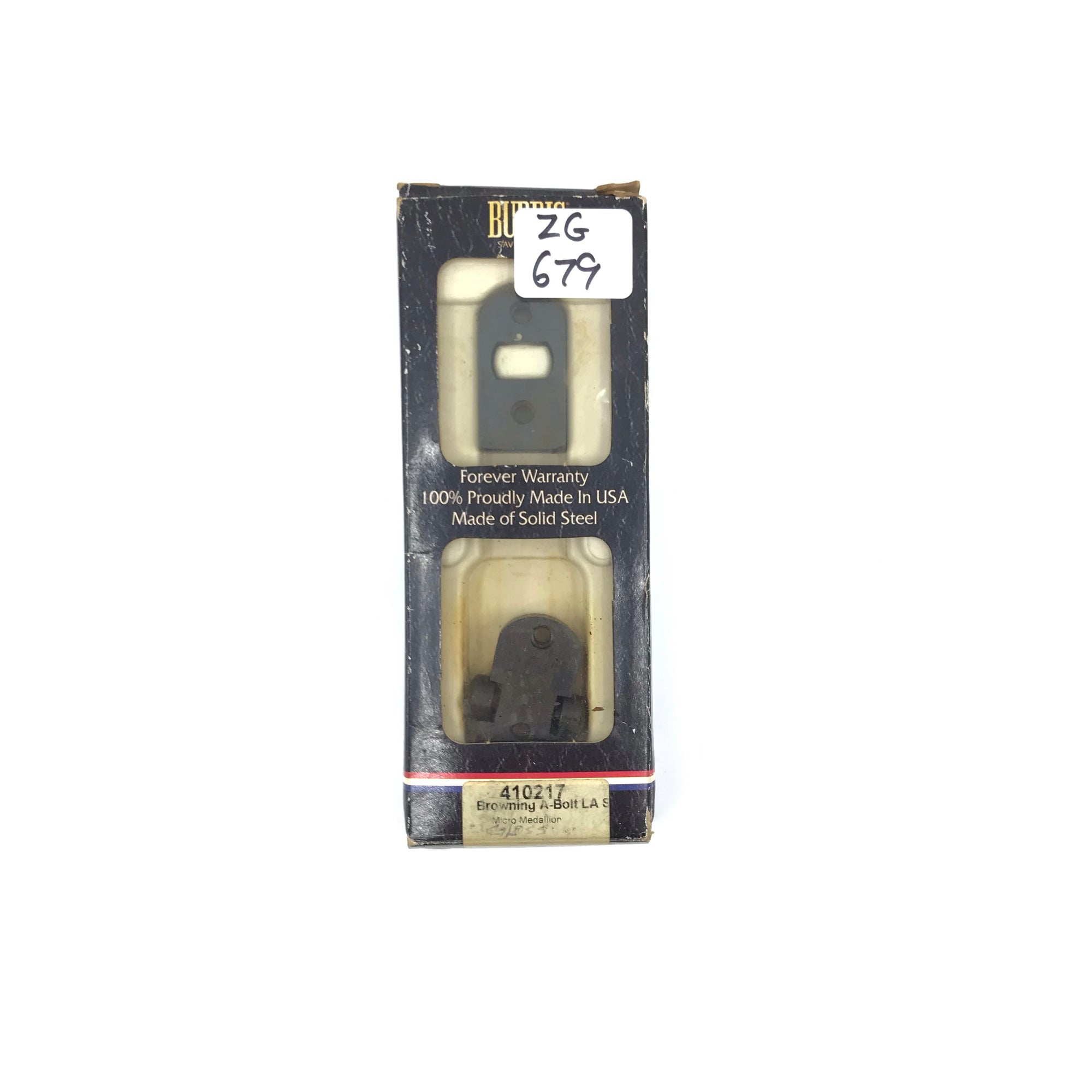 Burris 410217 Turn In 2 Pcs Base For Browning ABolt Micro Medallion