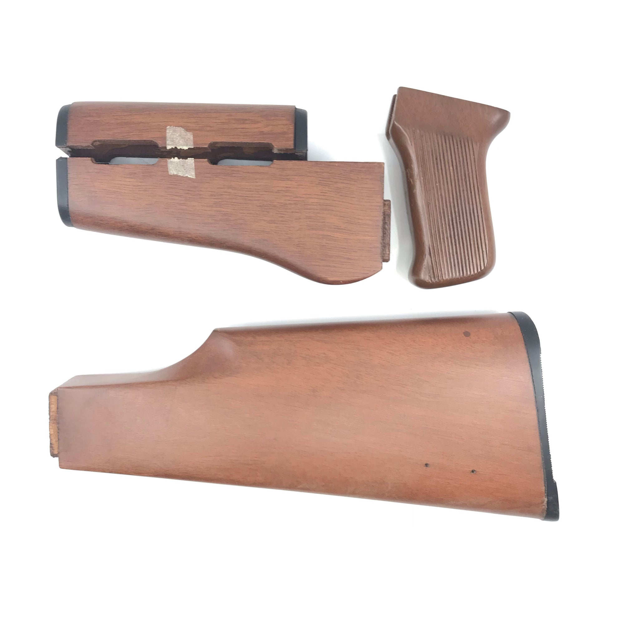 Squires Bingham AK22  22LR Semi Wood Butt Stock, Pistol Grip, 2 Piece Forearm 4 Pieces