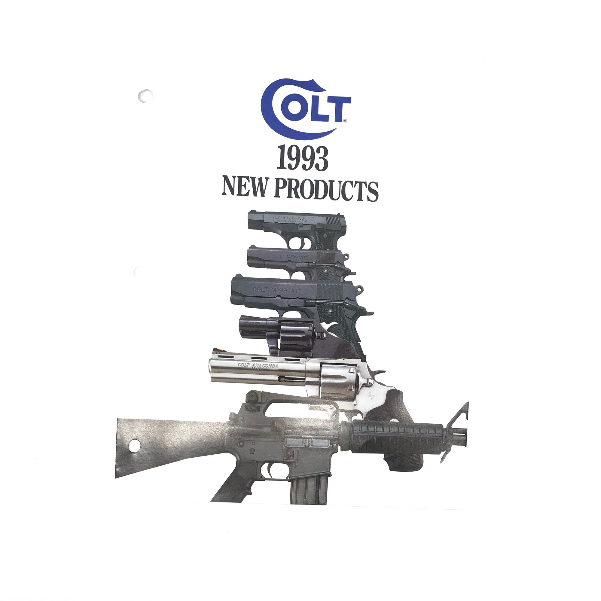 Colt 1993 New Products Catalogue