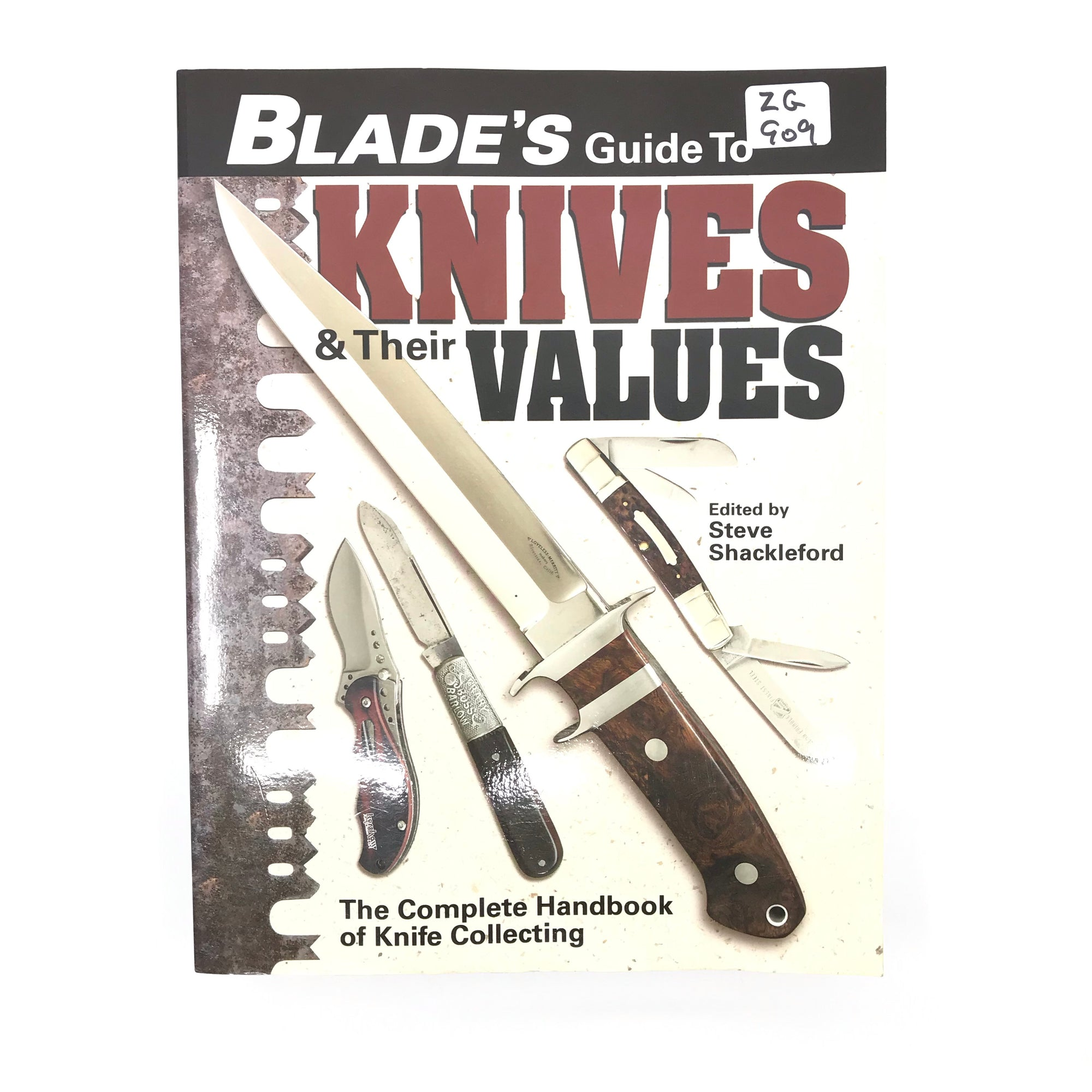 Blade's Guide To Knives & Their Value Steve Shackleford SB 570pgs