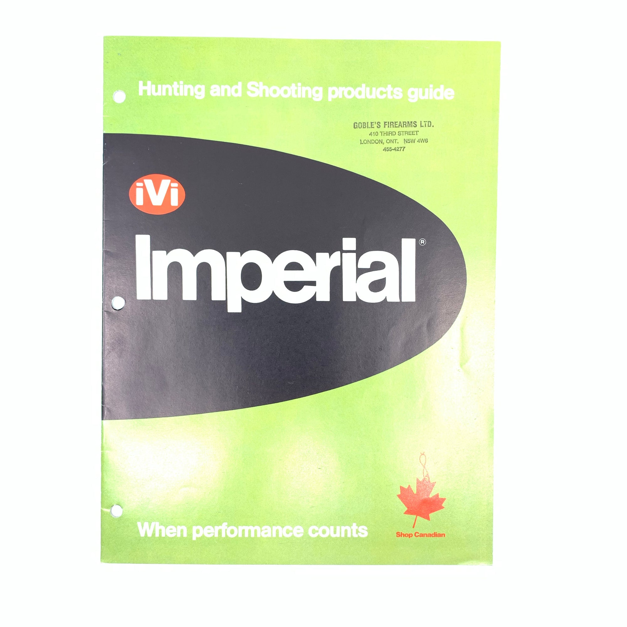 3 Imperial IVI Catalogues 1981, 1985, 1987