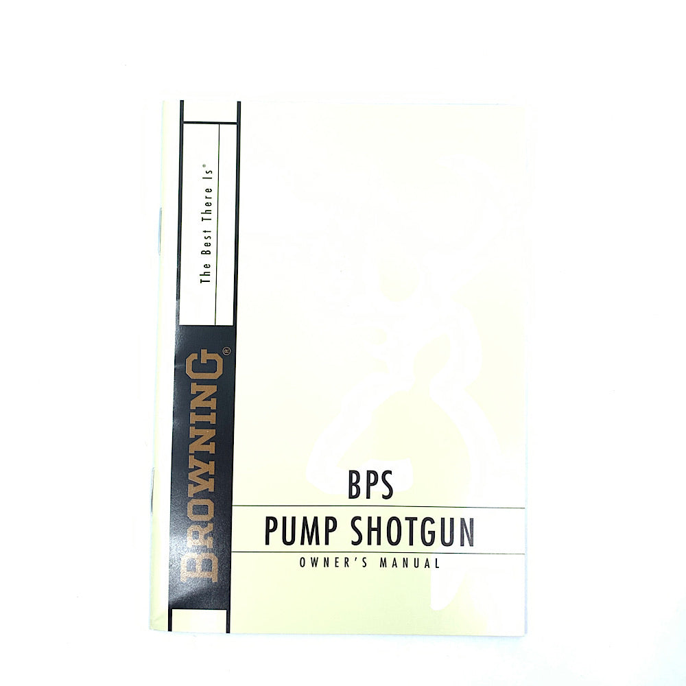Browning BPS Pump Shotgun Owner's Manual