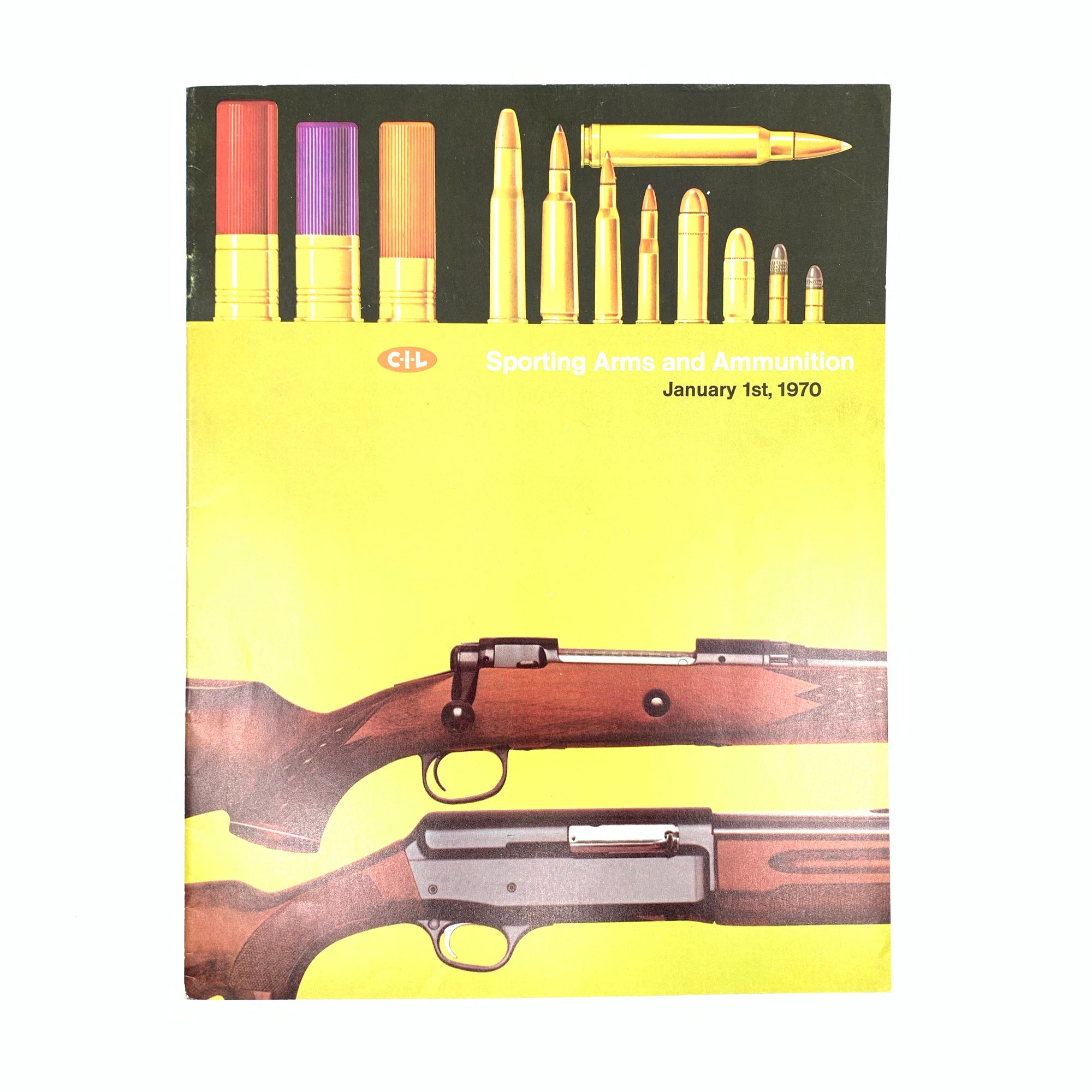 CIL Ammunition and Firearms 1970 SB 18 pages
