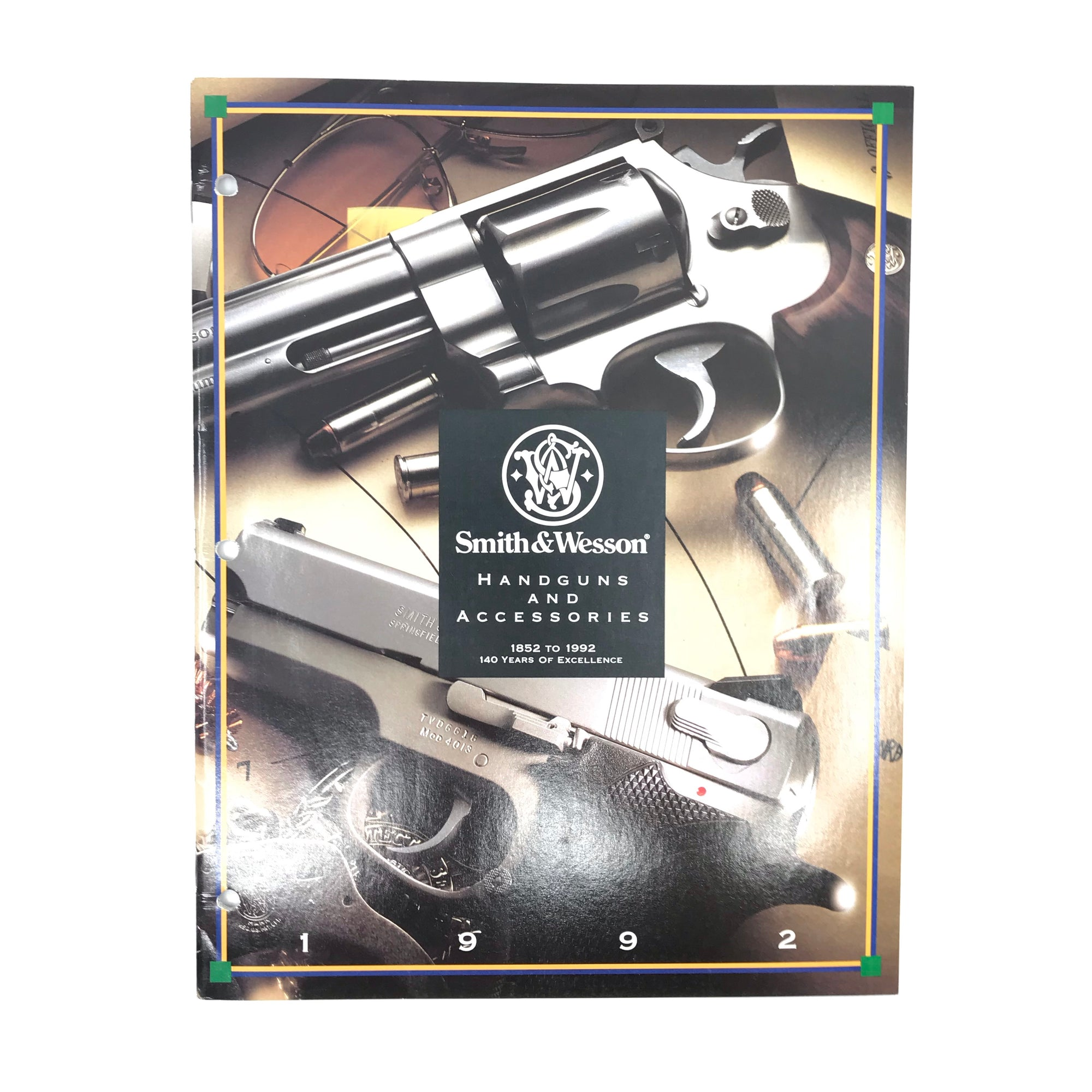 1992 Smith & Wesson Handguns & Accessories Catalogue
