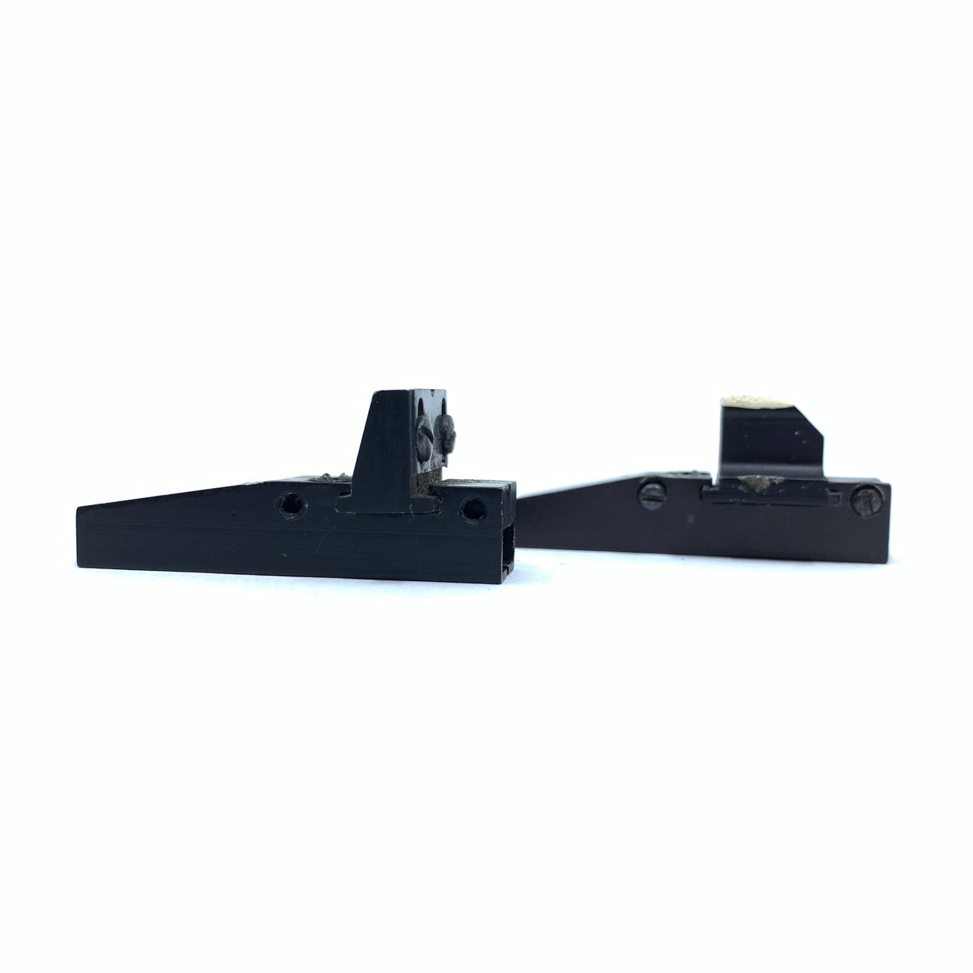 "1 Set Front & Back Rifle Sights For 1/4"" Rib Shotgun"