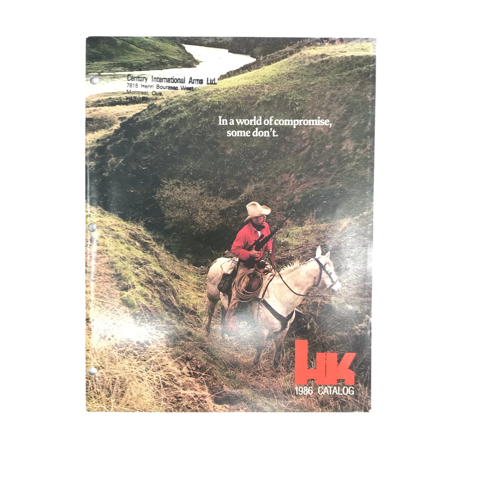 Heckler & Koch Firearms HK 1986 Catalogue